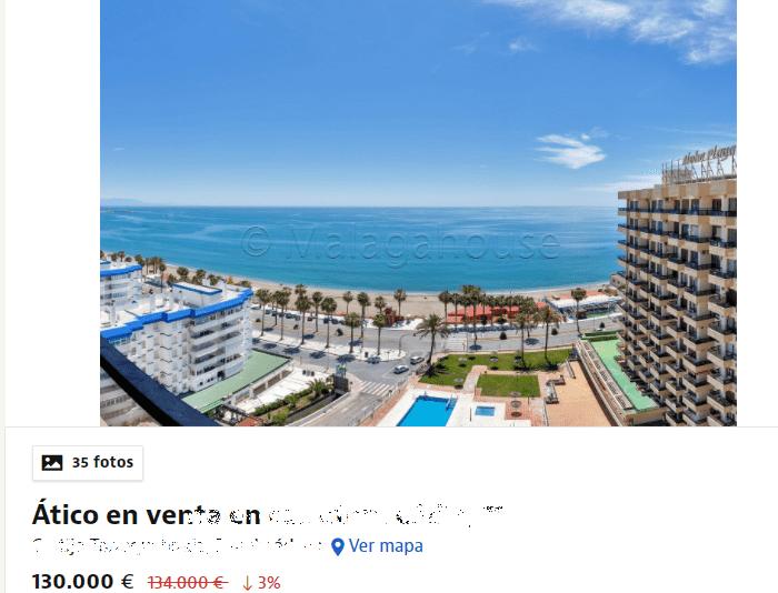 FireShot Capture 097 - Ático en venta en carretera Cádiz, 71, Cortijo Torrequebrada, Benalmá_ ...png